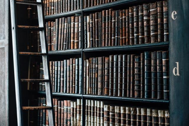 estanterías libros