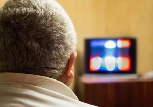televisor fútbol